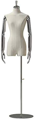 SGMYMXテーラーダミー 女性モデルは、バスト洋裁ファッションデザイナーの服のディスプレイを示す胴体ダミー テーラーのダミー (Color : A)