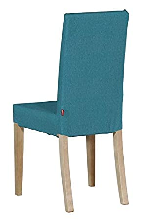 Dekoria Housse De Chaise Ikea Harry Turquoise Bleu