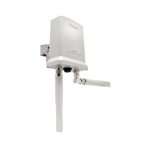 Hawking Technology Hi-Gain Outdoor Wireless-300N Dual Radio Smart Repeater (HOW2R1) by Hawking Technology