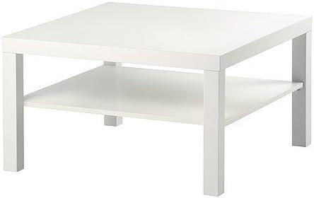 IKEA FALTA - Mesa de centro, blanco - 78x78 cm: Amazon.es: Hogar