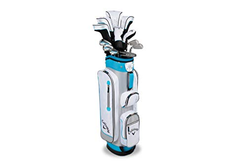 - Callaway Womens Solaire 11 Piece Complete Set w/Bag - Blue - New