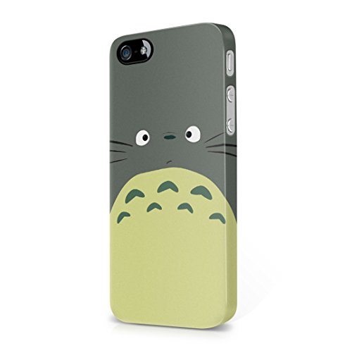 My neighbor Totoro Face iPhone 5, iPhone 5s Hard Plastic Case Cover