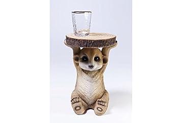 Kare Design Beistelltisch Animal Mini Mongoose O23cm Kleiner