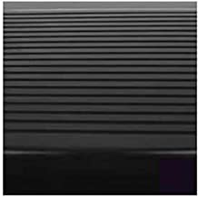 Black Stair Tread Rubber Round Nose 48L By Roppe