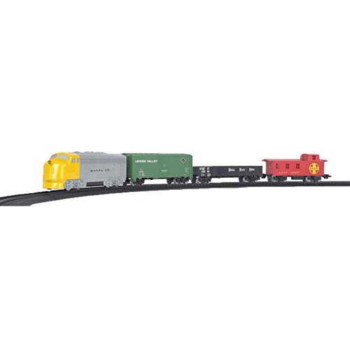 - Bachmann Industries HO Scale Battery Operated Rail Express Train Set with Sound, Yellow