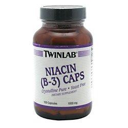 TwinLab - niacine Caps (B-3), 1