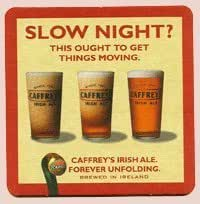 Guinness Paperboard Coaster Set - Brands produced by Guinness