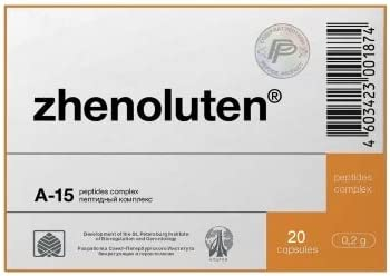 ZHENOLUTEN A-15 - Ovary Now on sale Peptide 200 x Bioregulator Complex 20 Outlet sale feature