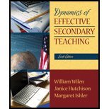 Read Online Dynamics of Effective Secondary Teaching (6th, 08) by [Paperback (2007)] pdf