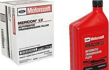 Motorcraft MERCON LV Automatic Transmission Fluid (ATF) 12 Quart Case by Motorcraft