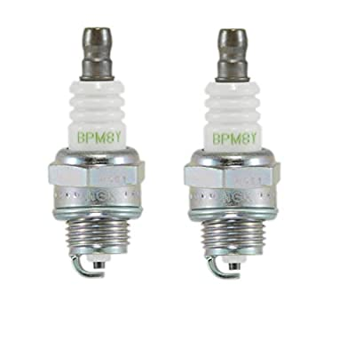 NGK Bpm8y (5574) Spark Plugs Individual Boxed - 2 Pack: Automotive