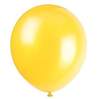 "9"" Latex Sunburst Yellow Balloons, 20ct"