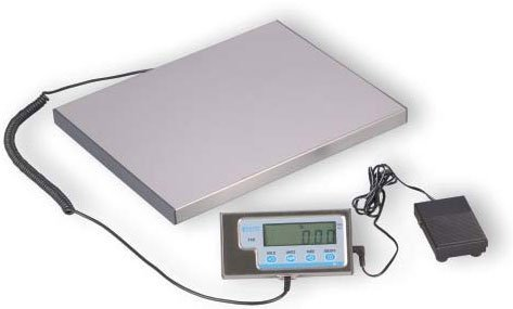 "Salter-Brecknell LPS30 Portable Bench Scale with LCD Display, 15"" Length x 12"""