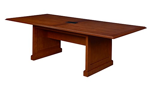 (Regency TVCTRC9648CH Prestige Traditional Veneer Conference Table with Power, 96-inch, Cherry)