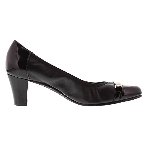 Rose Petals Womens Branson Dress Pump Black Nappa/patent epeME2