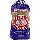 3 grain bread - Three Bakers Gluten Free 7 Ancient Grain Bread (Pack of 3)