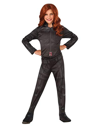 Rubie's Costume Captain America: Civil War Black Widow Child Costume, -