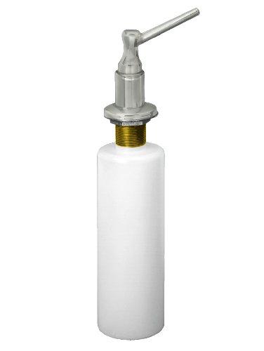 - Westbrass Standard Kitchen Sink Soap/Lotion Dispenser, Satin Nickel, D217-07