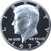 1973 S Gem Proof Kennedy Half Dollar US Coin Half Dollar Uncirculated US Mint ()