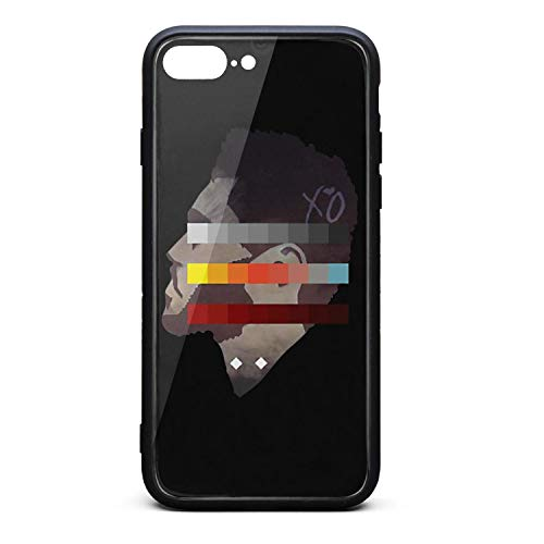 iPhone 7 Plus/iPhone 8 Plus Case The-Weeknd-Side-Face-Colorful-Painting- Slim Soft TPU Protective for iPhone 7 Plus/iPhone 8 Plus