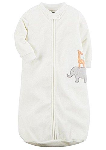 Carters One Piece Zoo Animals Micro Fleece Sleep Bag or Sack
