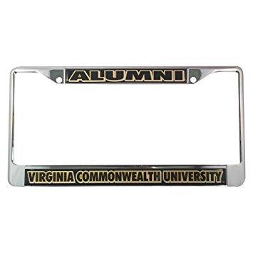 VCU Virginia Commonwealth University Alumni Car Tag License Frame
