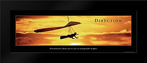 Direction - Hang Glider Framed Art Print by Frontline