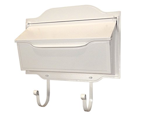 Special Lite Products SHC-1002-WH Contemporary Horizontal Mailbox, (Special Lite Contemporary Wall Mount)