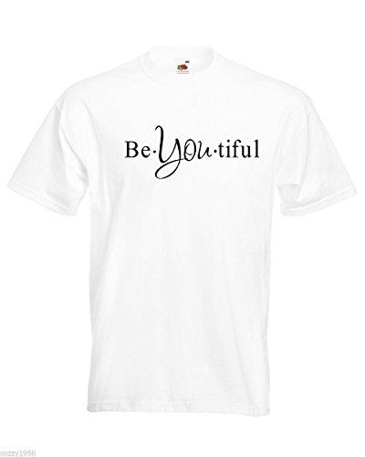 Gratuit Décalque Motivationnelle T Cadeau You À Hommes Avec Modèle Tiful Texte shirt Be Blanc Chemise Magnifique Mots Citation Relatif L'inspiration UFUOarq