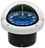 Ritchie Navigation SS-1002W Supersport Flush Mount Compass, White with Blue Dial, 3-3/4-Inch