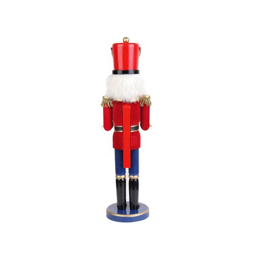 Jeco Inc. 18 Inch Red Nutcracker Drummer Soldier by Jeco Inc. (Image #1)
