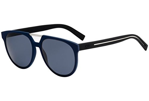 142a6417ff Dior Homme 0199S EMC Blue Black Rubber 0199S Aviator Sunglasses Lens  Category 3 - Buy Online in Oman.