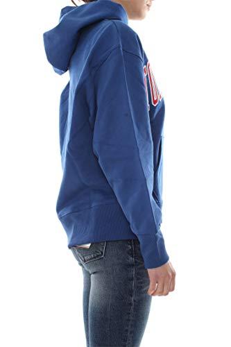 Clean Bluette Azul Jeans Collegiate Tommy Mujer Dm0dm06320 Sudadera pfqxzE