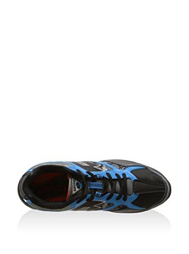Lotto Herren Laufschuh / Trail Running Schuh / Outdoor Schuh Crossride 500 IV, Gr. 40 (UK 6.5/US 7.5/CM 25.5), schwarz/blue ray, R8469