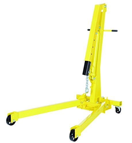 Vestil EHN-20-C Heavy Duty Steel Shop Crane Engine Hoist with Folding Legs 2000 lbs ()
