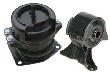 (M039 50800S0XA04 50820S0XA01 99-04 Honda Odyssey Engine Motor Mount with Hydraulic 2PCS Front+Right 99 00 01 02 03 04)