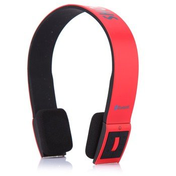 SHOCK WAVE SHB-901BH Bluetooth Headset Earphone red
