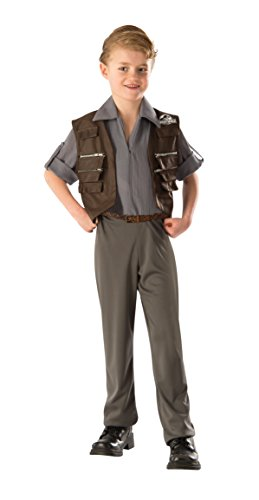 [Rubie's Costume Jurassic World Owen Deluxe Child Costume, Small] (Raptors Mascot Costume)