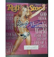 Mariah Carey Rolling Stone (Signed Carey, Mariah Rolling Stone Magazine Cover Only Dated 2/17/2000 autographed)