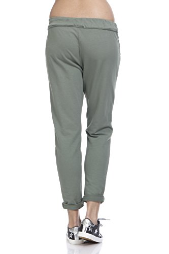 Verde Pantalones khaki Para Tantra Mujer CFRqgw0