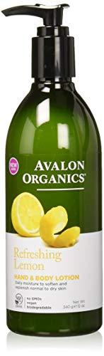Avalon Organics Refreshing Lemon Hand & Body Lotion, 12 ()