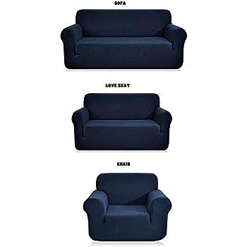 Amazon.com: STRETCH FORM FIT, fundas de sofá (3 ...