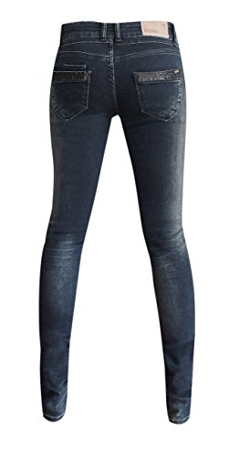 One Femme Coccara Jeans CW774 Blue Size 8PPqnBWfE