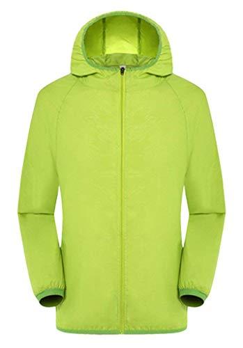 Autunno Colori Softshell Donna Costume Huixin Protezione Giacca Casuale Uv Jacket Manica Cappotto Solare Solidi Grün Outdoor Lunga Incappucciato Primaverile taw6qB6