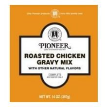 Pioneer Roasted Chicken Gravy Mix, 14 Ounce - 6 per case.