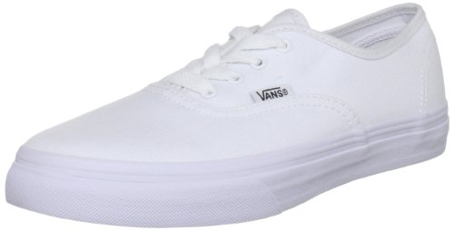 Vans Youth Authentic Core , White-2.5 - Vans Cheap Authentic