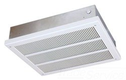 Qmark EFF4007 Ceiling Mounted Fan Forced Heater - EFF Series (With Back Box) Navajo White