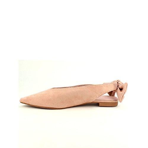 Pointue GLAMOURUS Femme Chaussures Ballerine Rose Cendriyon Pcg657qgA