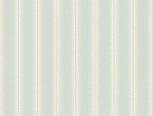 Décor Direct YWFL6531 Sweetwater Double Roll of Stripes Decorative Hanging Wallpaper, Blue
