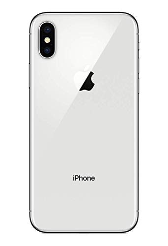 Simple Mobile Prepaid - Apple iPhone X (64GB) - Silver 5